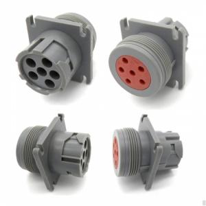 Deutsch Connector J1708 6pin Female And Male Plug