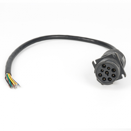 J1939 Cable 9pins To Open End 0.3m/1ft