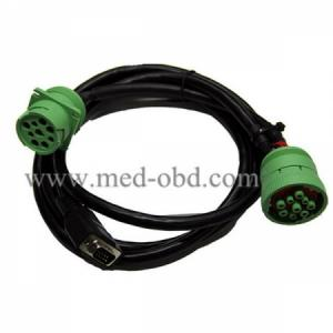 New Green J1939m To J1939f To DB9m Cable