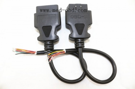 OBD2 Cable,J1962m To Open End , 1ft/30cm