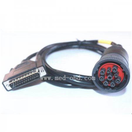 Cable, J1939(9pin) To DB25 Male Cable , 1m