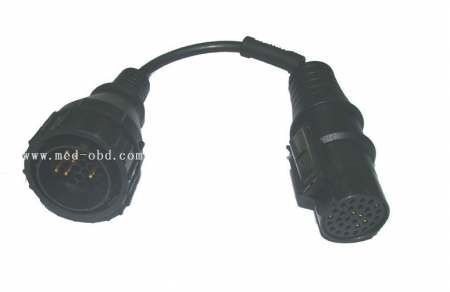 OBD2 Interface Truck 37p To IVECO 30p Male Cable