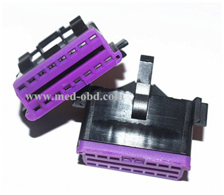 Obd2 Female Connector J1962f Plug Without Enclosure