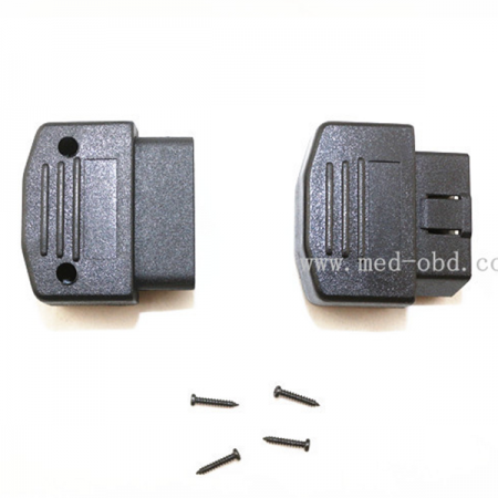 OBD2 Connector J1962m Male With Enclosure Without Hole