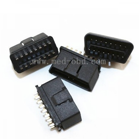 OBD2 Connector J1962m Male Plug 16pin Without Enclosure