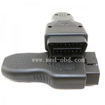 OBD2 Connector J1962m With Enclosure And Relief 16pin Male Connector